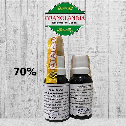 Extrato de Própolis Verde Alcoólico 70%