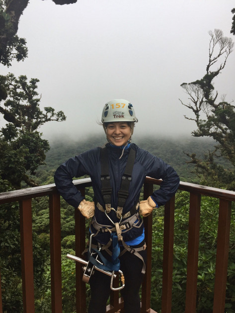 Rainforest Zip Lining: Costa Rica