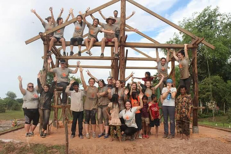 Building a House in Cambodia!