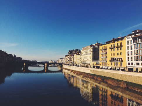 River Arno. Florence, Italy