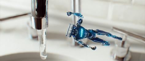 SCHICK HYDRO | ROBOT BATTLE