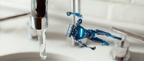SCHICK HYDRO | ROBOT BATTLE