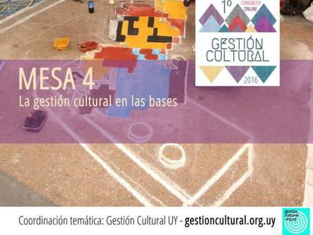 Con 10 nuevas ponencias #GCultural2016 nos habla de la gestión cultural en las bases