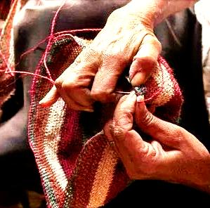 Comunidad Indígena Kankuama, Sierra Nevada de Santa Marta, Colombia, Oficio tejeduría en fique