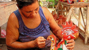 Muestra nacional de artesanía de Honduras en la Casa Valle