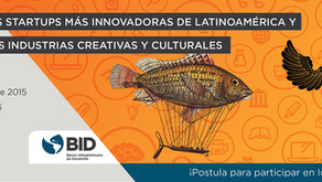 Concurso para las startups más innovadoras de las industrias creativas y culturales de américa latin