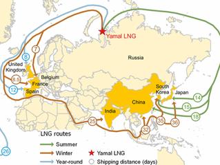 Rússia entrega primeiro óleo do Ártico para a China através da Rota do Mar do Norte