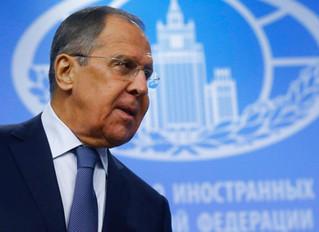 Lavrov: Rússia e China são estabilizadores nos assuntos mundiais