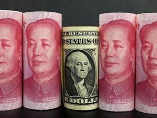 Pequim corta as asas do dólar