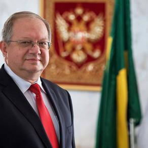 Embaixador russo: Brasil pode produzir vacina russa contra o coronavírus para toda a região.