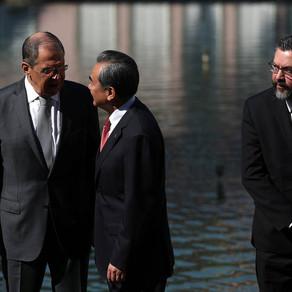 Serguey Lavrov sobre a cúpula do Brics em Brasília