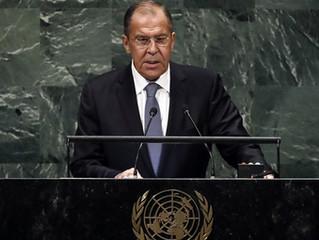 Discurso de Sergey Lavrov na 74ª sessão da Assembléia Geral da ONU