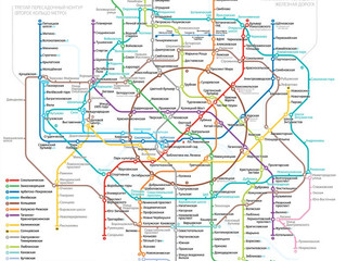 O desenvolvimento de metrô de Moscou para 2018-2019