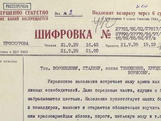 O Ministério da Defesa da Rússia publicou novos documentos sobre o Pacto Ribbentrop-Molotov