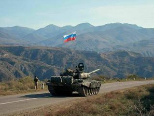 Lei e ordem. Rússia enviou tropas de paz para Nagorno-Karabakh. Entenda.