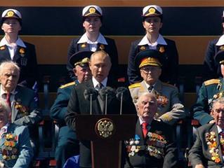 O discurso do Presidente Putin na Parada da Vitória 2020.