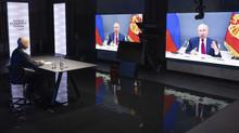 """Existe o risco de todos contra todos."" Putin falou no Fórum de Davos"