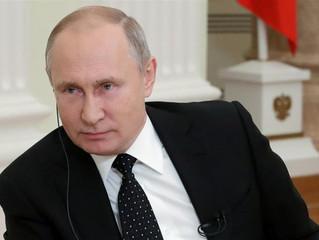 """""""Liberalismo é obsoleto"""", disse o presidente russo, Vladimir Putin, em meio à cúpula do G-20"""