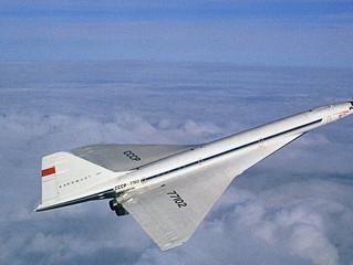 Rússia trará de volta o avião de passageiros supersônico