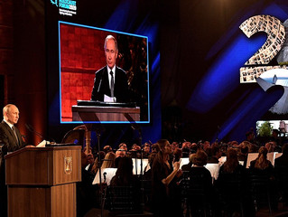 Discurso de Vladimir Putin no Forum Relembrando o Holocausto