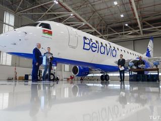 Belarus comprou novos aviões da Embraer .