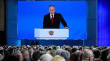 Putin para a Assembleia Federal