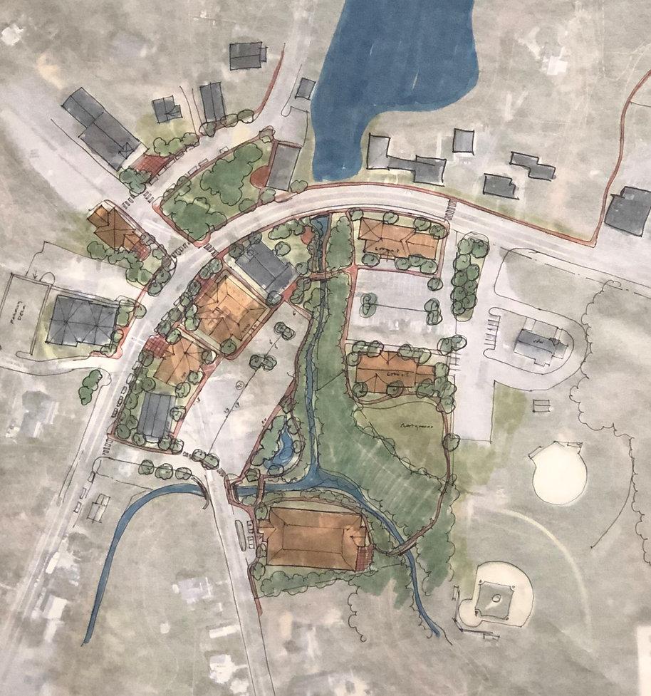Town Vision conceptual map
