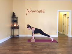 namaste yoga girl