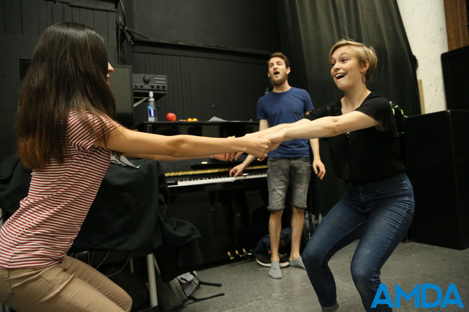"""""""She is just an amazing, positive, supportive presence in the room, so you can actually relax and have fun! It can be daunting to work with another performer, but you will not get a lick of judgment from Devon. Only good vibes.""""  -Aubrey Sinn Nevius"""