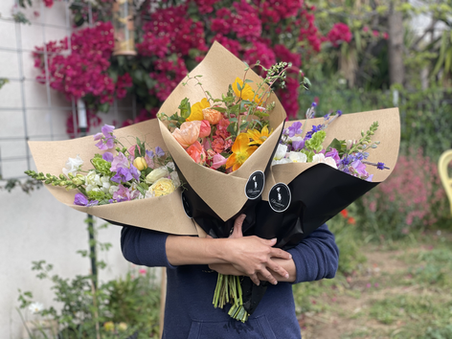 Hand-tyed Bouquets