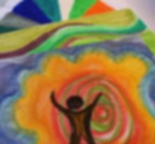 Kunsttherapeutische Arbeiten