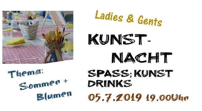 KUNSTNACHT-Spass, Kunst, Drinks in Tuttlingen