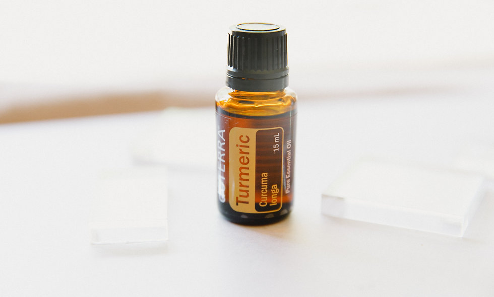 Turmeric Essential Oil Sample from LeoTree Wellness