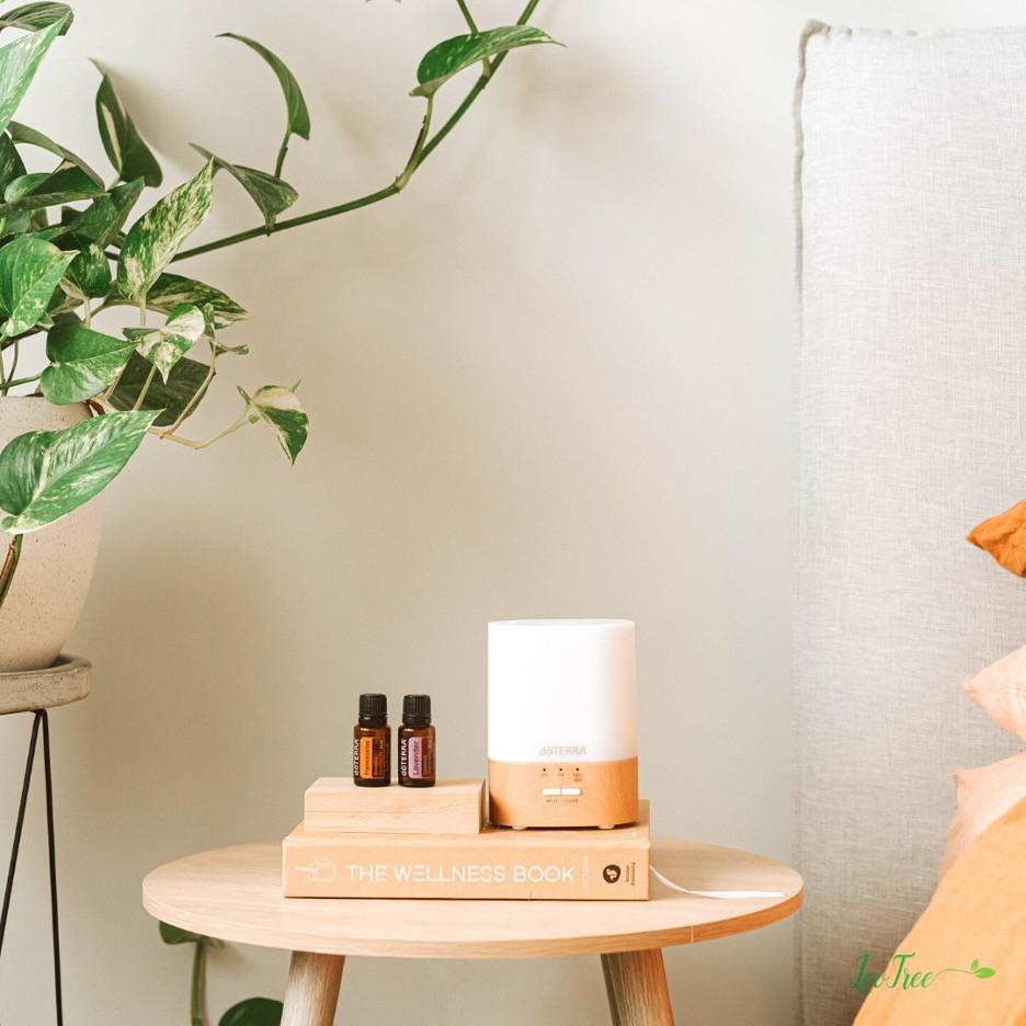 Diffusing essential oils can help mental wellness