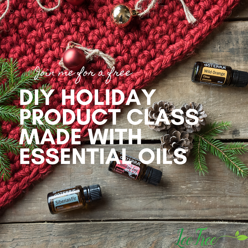 Holiday DIY with Essential Oils (1)