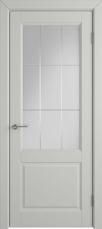 Доррен Коттон Стекло белый сатинат художественное с гравировкой