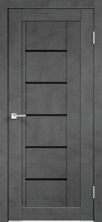 Next 3 Муар темно-серый Стекло лакобель черный