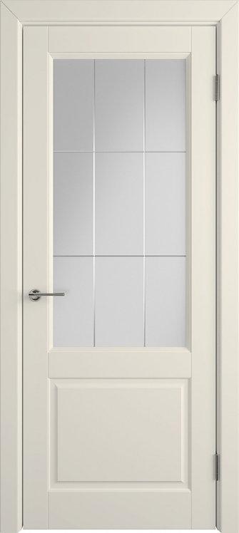 Доррен Айвори Стекло белый сатинат художественное с гравировкой
