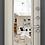 Thumbnail: SUPER OMEGA 10 RP1 Черный шелк RS-10 ПВХ Белый перламутр Зеркало