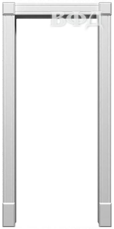 Арка Портал белая эмаль