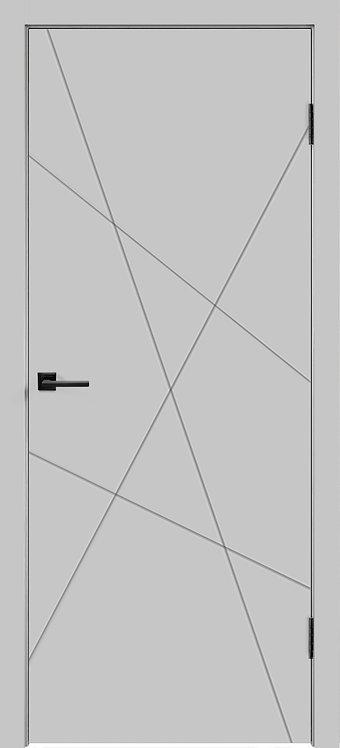 Scandi S Design Светло-серая эмаль Глухая