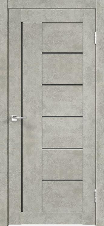 Loft 3 Бетон светло-серый Стекло графит сатинат