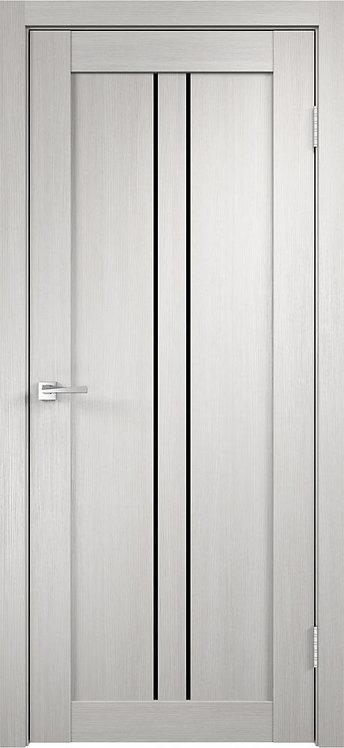 Linea 2 (800 мм) Дуб белый Стекло лакобель черный (на складе)