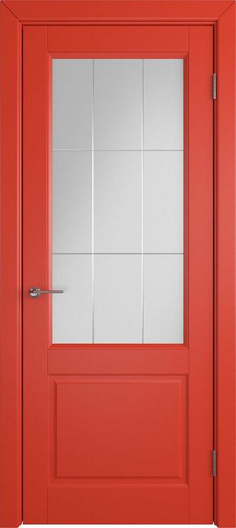 Доррен Ред бим Стекло белый сатинат художественное с гравировкой