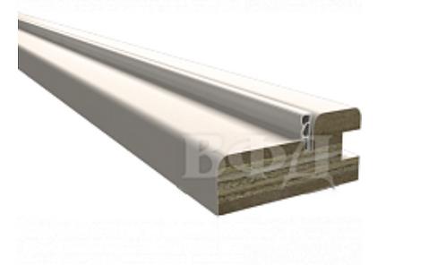 Коробочный брус ПВХ с уплотнителем