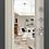 Thumbnail: DELTA-M 10 DL-2 Черный шелк CK6M Белый перламутр Зеркало