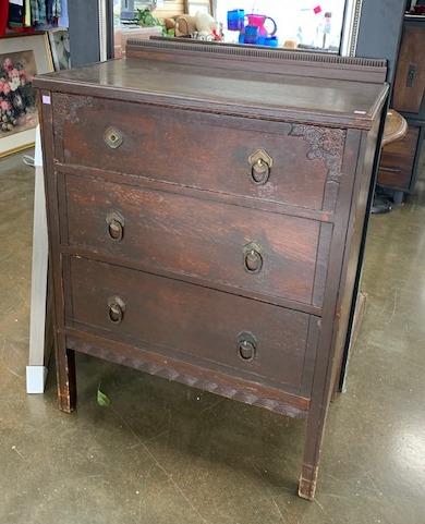 item 461 - antique rustic chest