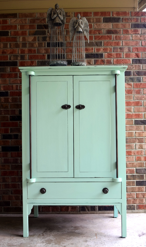 custom mint armoire
