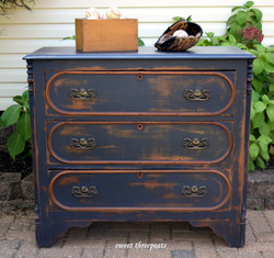 vintage/coastal inspired dresser