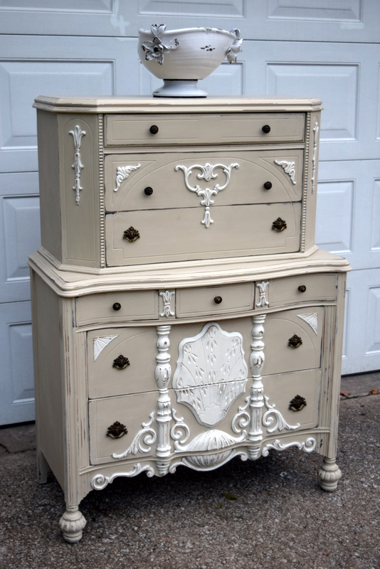 ornate highboy